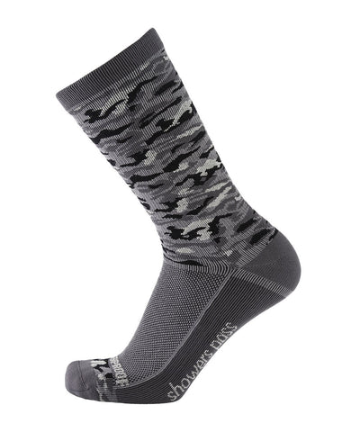2019/20 Lightweight Waterproof Crosspoint Socks Grey Camo Showers Pass