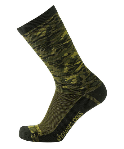 2019/20 Lightweight Waterproof Crosspoint Socks Forest Camo Showers Pass