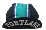 Portland Cycling Cap in Black