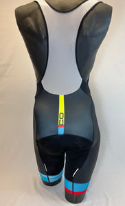2017 Colombian Collection Bib Short in Blue - Made in Columbia | Cento Cycling