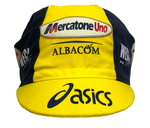Mercatone Uno Asics Vintage Team Cycling Cap