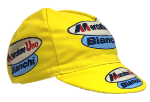 Mercatone Uno Bianchi Vintage Team Cycling Cap