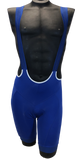Professional 'POWER' Cycling Bib Shorts in Royal Blue