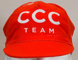2019 CCC Team Cycling Cap Orange | Cento Cycling