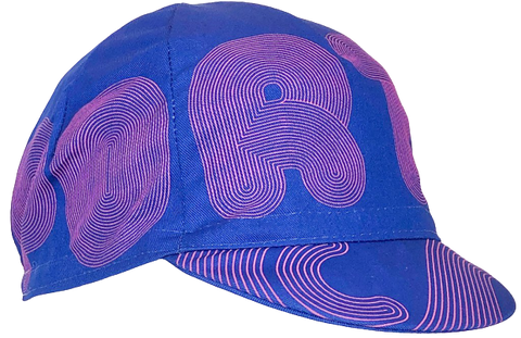 Cento x Raymi Damo Portland Wrap Purple Cycling Cap | Cento Cycling