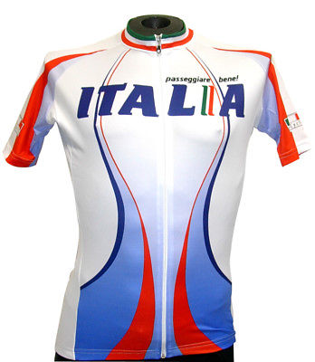 GSG Cento Italia Men's CYCLING JERSEY Blue/Red