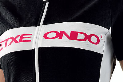 ETXEONDO Andre Women/'s CYCLING short sleeve Jersey in Black made in Spain