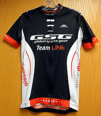 Raceline CYCLING JERSEY with Invisible Full Zipper Made in Italy by GSG