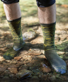 Lightweight Waterproof Crosspoint Socks Forest Camo Showers Pass