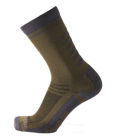 2019/20 Lightweight Waterproof Crosspoint Classic Socks Fatigue Green Showers Pass