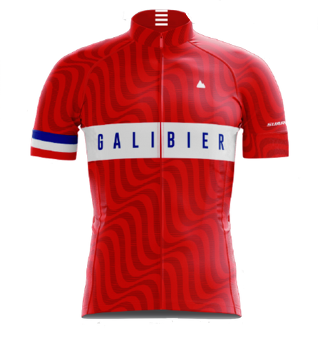 Col du Galibier Tour de France Cycling Jersey by Suarez