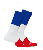 Le Drapeau Tour de France Commemorative Cycling Socks in Blue/White/Red