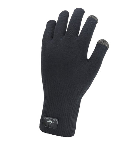Waterproof All Weather Ultra Grip Knitted Glove Sealskinz | Cento Cycling
