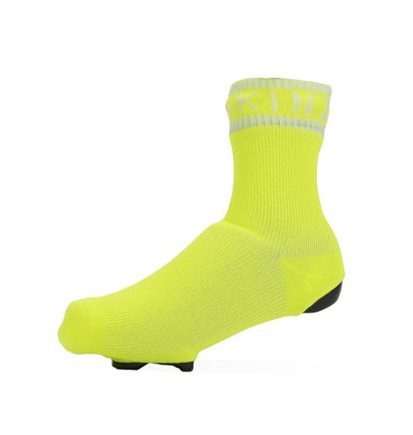 2019/20 Waterproof All Weather Cycle Oversock - Yellow - Sealskinz
