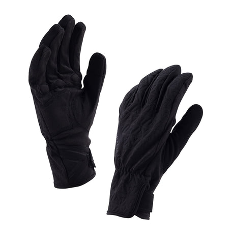 Women's 2018/19 Waterproof All Weather Cycling Gloves - winter, black