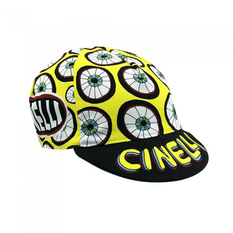ANA BENAROYA 'Eyes 4 U' Cycling Cap by Cinelli | Cento Cycling