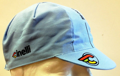 Cinelli Cap Collection:  Supercorsa Cycling CAP in Lazer Blue