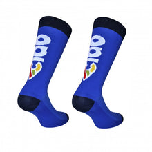 'Ciao' Cycling Socks in Blue