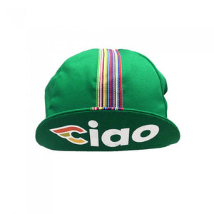 Cinelli 'Ciao' Cycling Cap Green