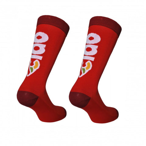 Cinelli Ciao cycling Socks in Red