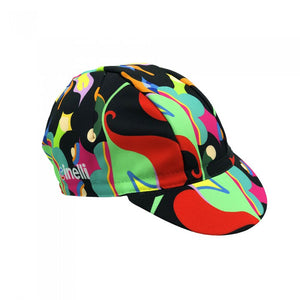 Cinelli Fulvia Mendini 'Anemone' Cycling Cap | Cento Cycling