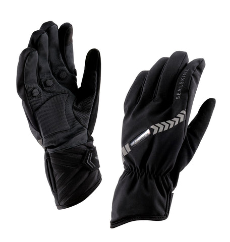 Sealskinz 2018/19 Waterproof All Weather Halo Cycling Gloves - winter, black