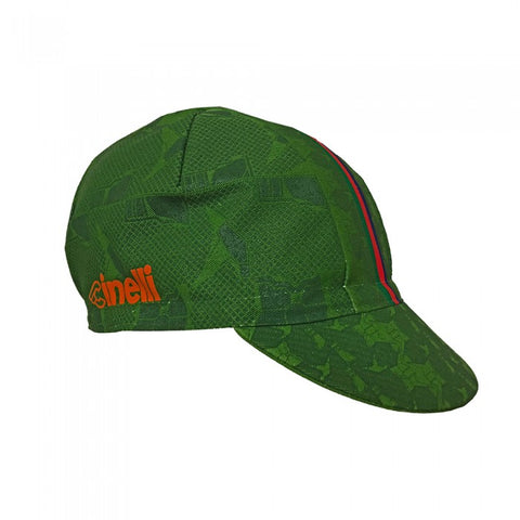 Hobo Green Cinelli Cycling Cap