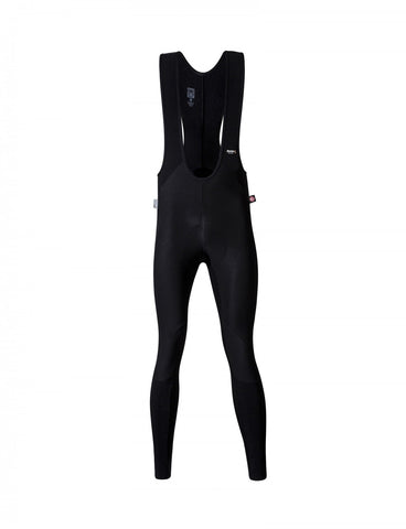 Jupiter Winter Cycling BIB Tights with windproof front - made in Italy by Santini