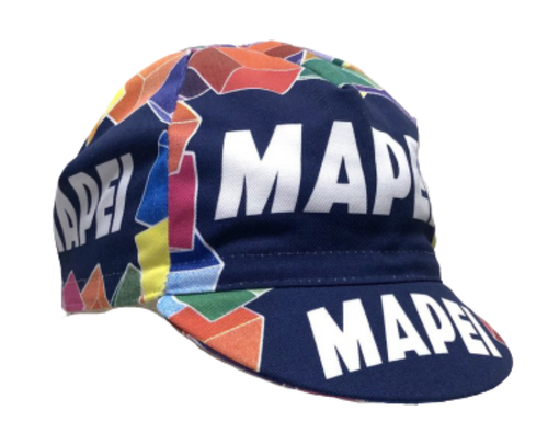 MAPEI Vintage Professional Team Cycling Cap | Cento Cycling