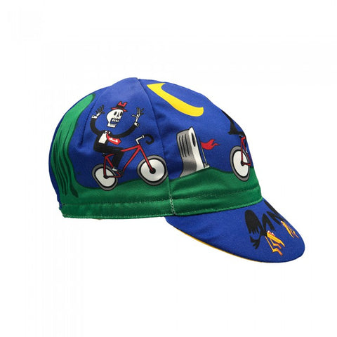 Massimo Giacon Halloween Cinelli Cycling Cap