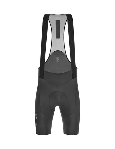 Santini Men's Tono Dinamo Cycling Bib Shorts - Gray | Cento Cycling