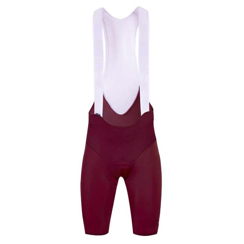 2021 Unique Bib Short in Merlot - Made in Colombia by Suarez | Cento Cycling