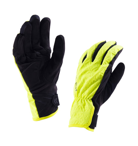Sealskinz 2018/19 Women's Waterproof All Weather Cycling Gloves - winter, Hi Vis Yellow