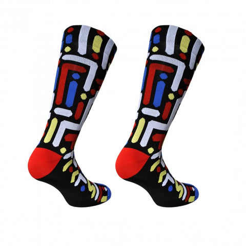 Yoon Hyup 'City Lights' Cycling Socks by Cinelli