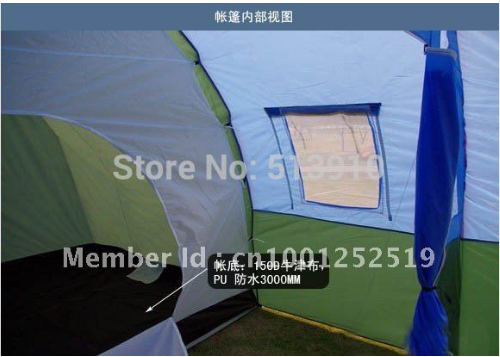 ... 10persons large family tent/c&ing tent/tunnel tent/1Hall 2room party tent ... & 10persons large family tent/camping tent/tunnel tent/1Hall 2room ...