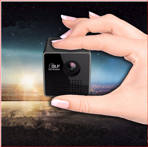 2017 Newest Mini LED Pico Projector Full HD 1080P 3D home theatre Portable projector Support TF video playback DLP proyector