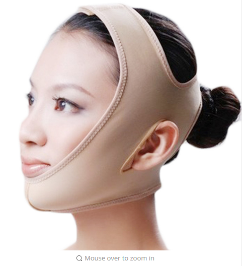 Face Massage Spa Skin Care Bandage Slimming Belt thin Cheek Slim Lift Up Anti Wrinkle Face slim band Thinning Products