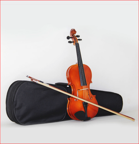 Master Violin High quality, bailing violin 1/4 3/4 4/4 1/2 1/8 violin Send violin case,free shipping