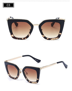 ROYAL GIRL Fashion New Women Sunglasses Classic Brand Designer Sunglasses Vintage Single Bridge Sunglasses ss561