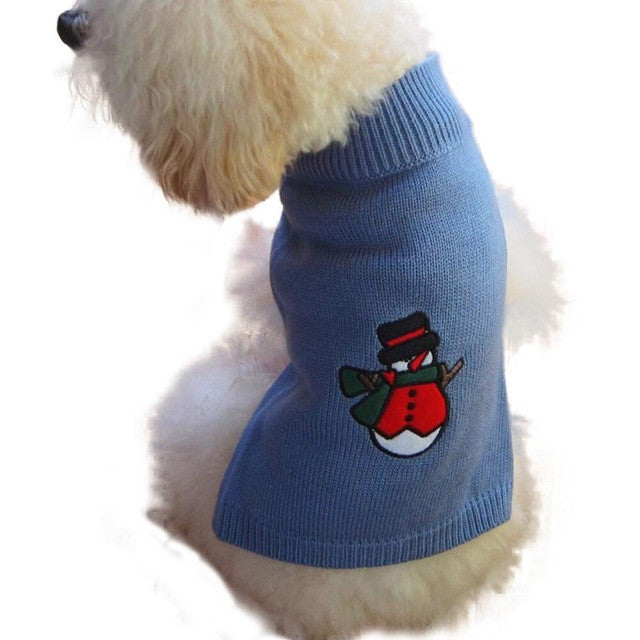 pet clothes christmas sweater coat winter dog jaket winter warm products for dogs vetements