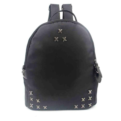 2016 Women Korean Rivet Backpack Cute Teen Laptops Vintage Female Bags Girls School Backpacks Rucksack mochila feminina #30