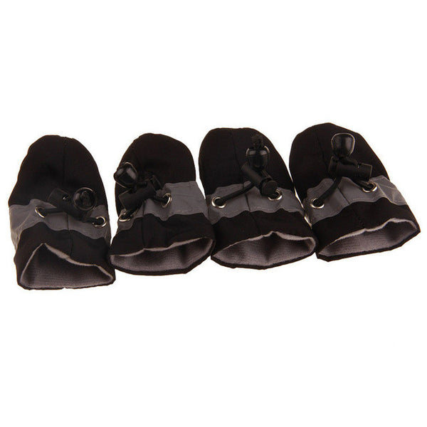 4x3cm Comfortable Anti-slip Shoes Puppy Dog Cat Boots Sneaker Boots dogs pets accessories Pet Products