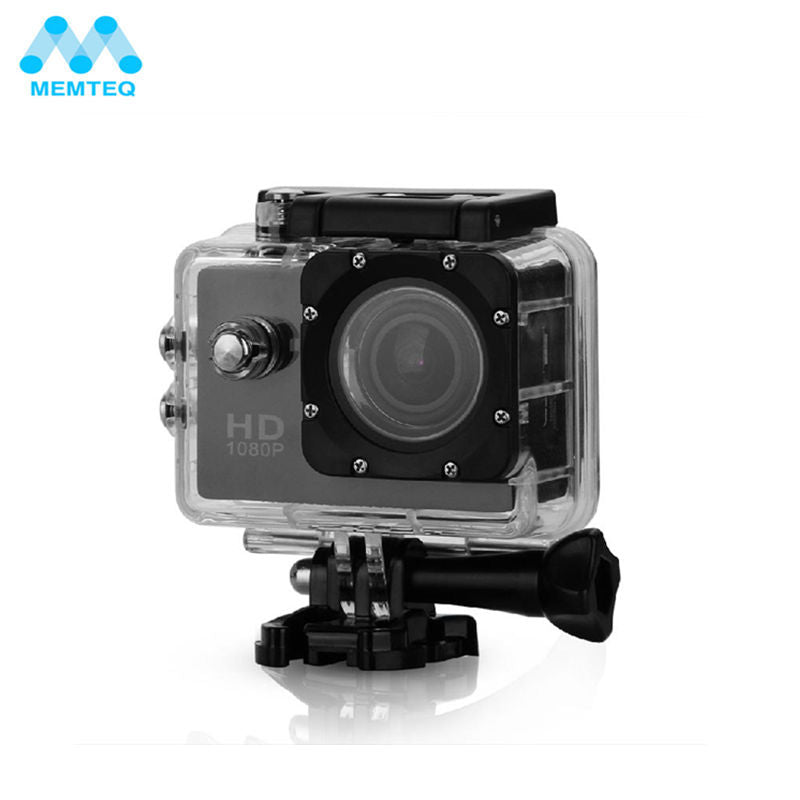 MEMTEQ FULL HD Outdoor Waterproof Camera Video Camera DV Camcorder 1080P Wide Angle Rated For Camera Accessories