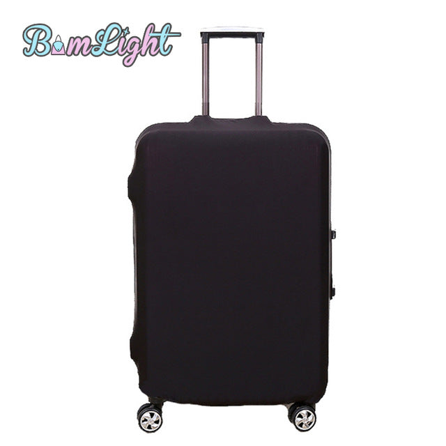 Bomlight Colorful Luggage Cover Protector Suitcase Cover for 18-28 inch Trunk Case Trolley Case New Travel on Road Luggage Cover