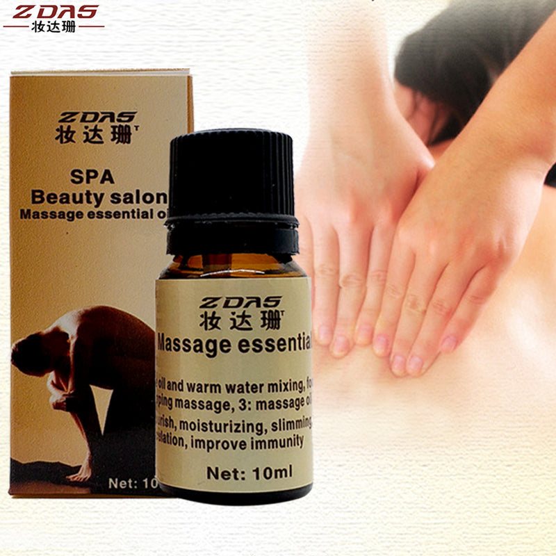 SPA massage oil Foot bath Product 100% Natural Body Slimming essential oil lose Weight  waist Thin legs body Health Care 6 pcs