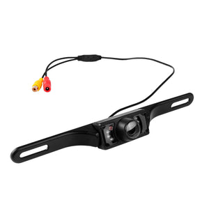 7 LED Night Vision Car Rear View Camera CCD Reverse Backup Parking Rearview Camera CMOS Waterproof