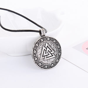 Viking Necklace Animal Teen Men Necklace Fashion Jewelry Pendant Supernatural Am