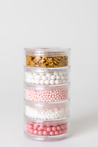 Ballet Slipper Sprinkle Stacker