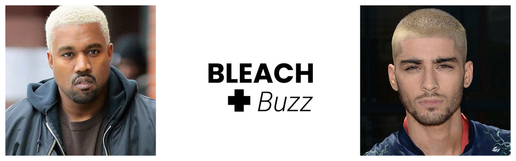 Bleach + Buzz: Anti-Fade Shampoo and Conditioner, Sponge Wax, Hair Styling