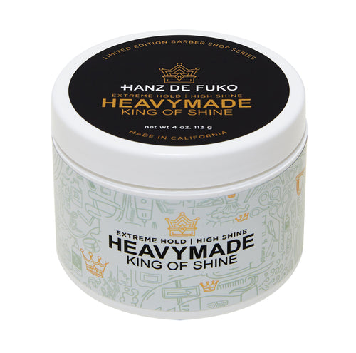 Hanz de Fuko Extreme Hold High Shine Men's Hair Styling Grooming Pomade Heavymade
